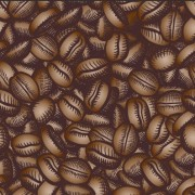 Creative coffee beans pattern vector grephics 02 free