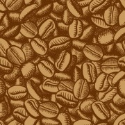 Link toCreative coffee beans pattern vector grephics 05 free