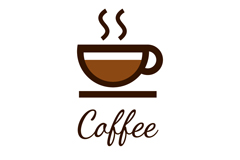 Link toCreative coffee logo design vector