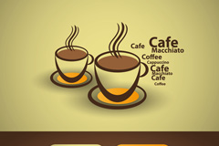 Link toCreative coffee theme banner vector