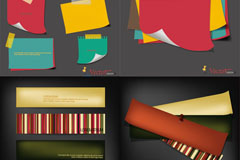 Link toCreative color note vector