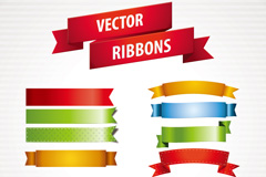 Link toCreative color ribbon design vector