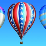 Link toCreative colorful hot air balloons vector 04 free