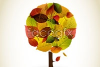 Link toCreative combination of autumn leaf graphic vector 2