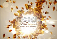 Link toCreative combination of autumn leaf graphic vector 5