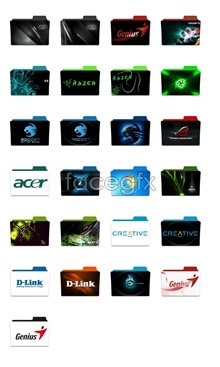 Link toCreative current design folder icons