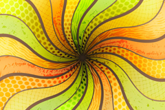 Link toCreative curve space vector background