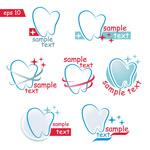 Link toCreative dental icon vector
