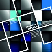 Link toCreative design geometry vector background 01