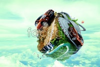 Link toCreative design of automotive advertising high definition pictures