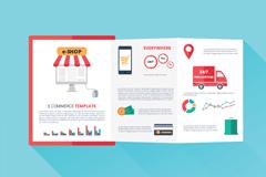 Link toCreative e-commerce fold vector