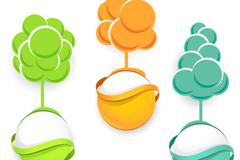 Link toCreative eco-label vector