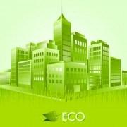 Link toCreative ecology city background illustration 02 vector