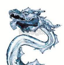 Link toCreative elements of chinese water dragon design psd