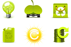 Link toCreative environmental icon vector