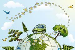 Link toCreative environmental vector illustration
