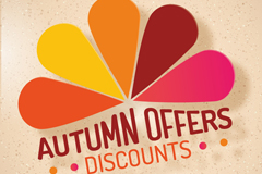 Link toCreative fall promotional poster vector graphics