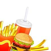 Link toCreative fast food products background vector 01 free