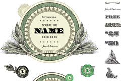 Link toCreative finance tag vector