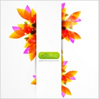 Link toCreative floral background vector 1 gorgeous