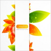 Link toCreative floral background vector 2 gorgeous