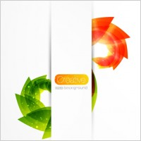 Link toCreative floral background vector 3 gorgeous