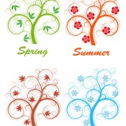 Link toCreative four season elements vector 05 free