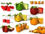 Link toCreative fruit psd