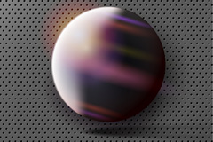 Link toCreative galaxy sphere vector background