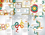 Link toCreative geometric concepts vector