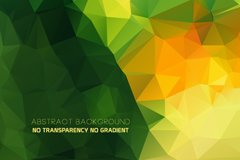 Link toCreative geometric triangular background vector