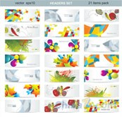 Link toCreative graphic vector banner templates