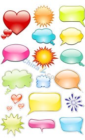 Link toCreative graphics dialog box-vector