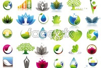 Link toCreative green logo design elements vector