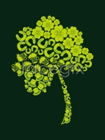 Link toCreative green pattern tree vector
