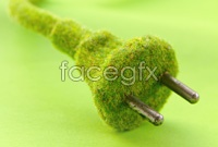 Link toCreative green plug hd photo