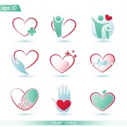 Link toCreative heart icons design graphic vector free