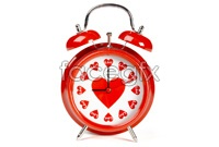 Link toCreative heart-shaped alarm clock hd photo