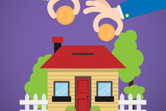 Link toCreative illustrator vector of housing accumulation fund