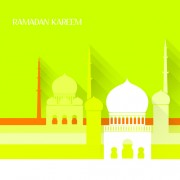 Link toCreative islamic mosque vector background 01 free