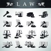 Link toCreative law logos design vector