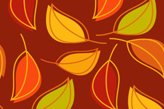 Link toCreative leaf background vector