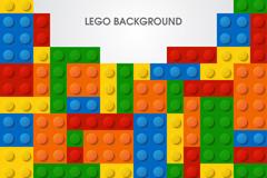 Link toCreative lego background vector