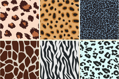 Link toCreative leopard-spotted background vector