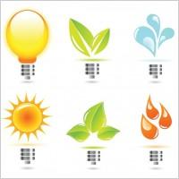 Link toCreative light bulb icon vector