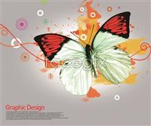 Link toCreative line of butterfly design element psd
