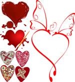 Link toCreative love hearts vector