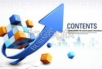 Link toCreative magic arrow business poster vector