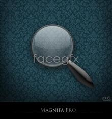 Link toCreative magnifying glass psd