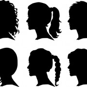 Link toCreative man and woman silhouettes vector set 04 free